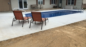 14x30 vinyl pool installation