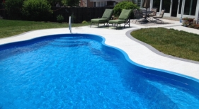 Rio San Juan one pc fiberglass pool
